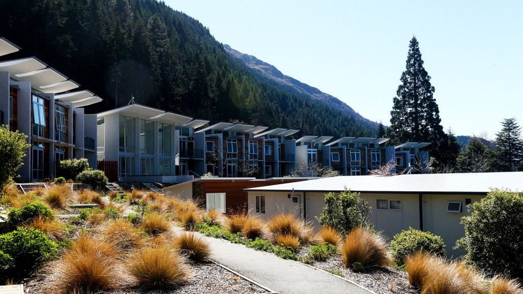 Modern motel accommodation right in the heart of Queenstown town centre